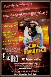 Earl David Reed Tickets on Sale Now!  $25